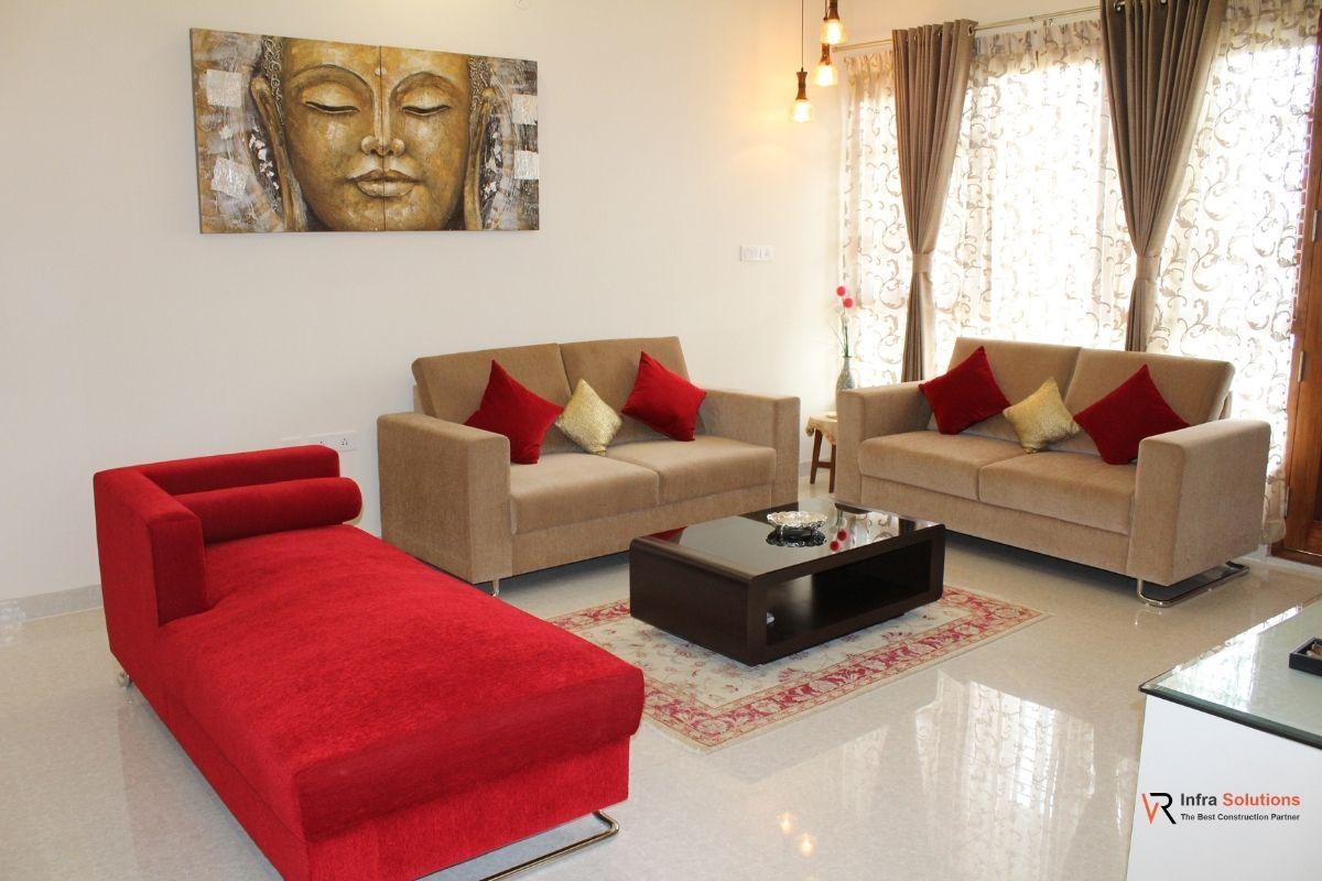 Interior Design living room bangalore