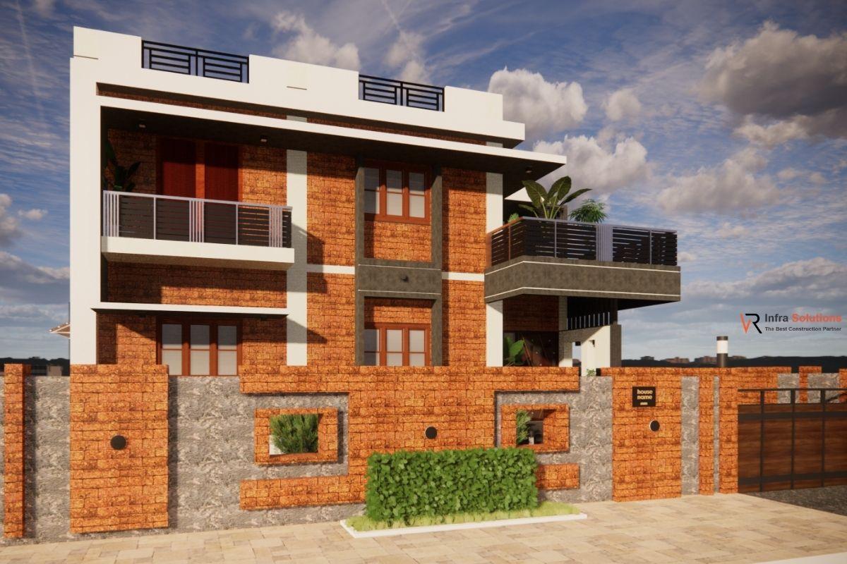 Proposed house Plan in Haliyal